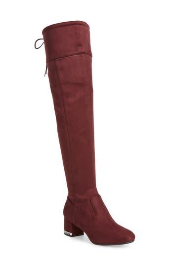 Michael Michael Kors Jamie Over The Knee Boot- Purple