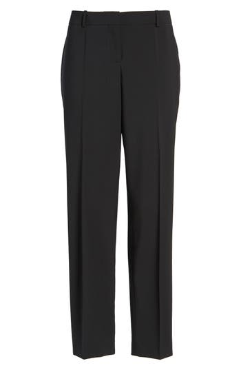 Women's Boss 'Tiluna' Stretch Wool Slim Leg Ankle Trousers
