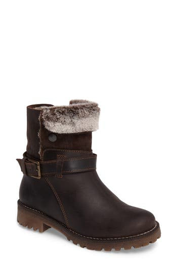 Bos. & Co. Cluster Faux Shearling Waterproof Boot, Brown