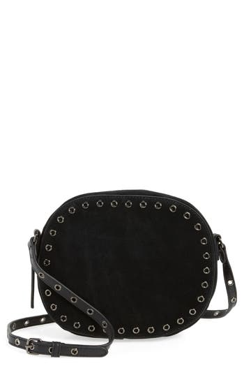 Vince Camuto Areli Suede & Leather Crossbody Bag -