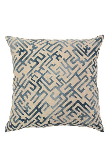 Villa Home Collection Marin Pillow, Size One Size - Blue