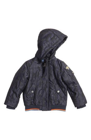 Boy's Armani Junior Jacquard Camo Jacket
