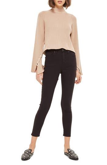 Women's Topshop Jamie High Waist Ankle Grazer Skinny Jeans