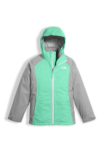 Girl's The North Face East Ridge Triclimate Waterproof 3-In-1 Jacket