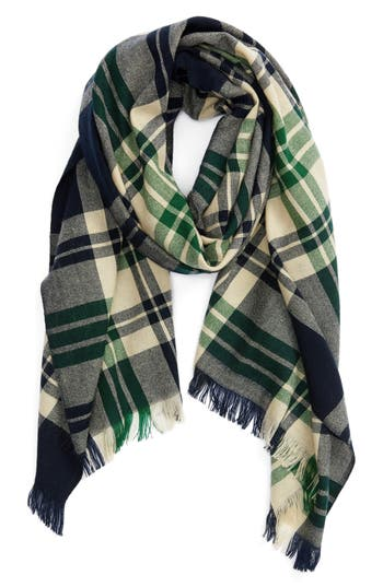 Women's Sole Society Oversize Plaid Scarf