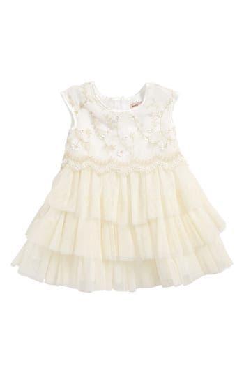 Infant Girl's Nanette Lepore Embroidered Tulle Dress