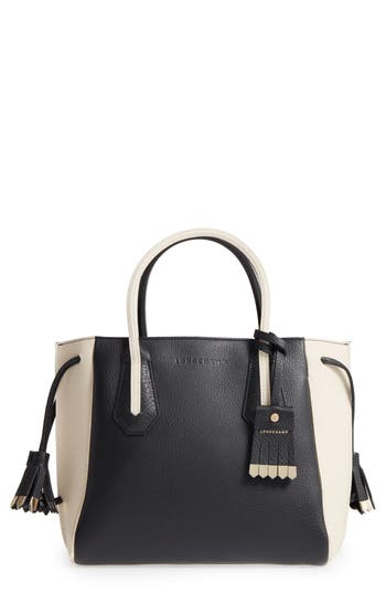 Longchamp Small Penelope Luxe Leather Tote -