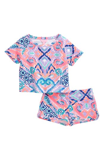 Girl's Lilly Pulitzer Mini Dossie Top & Shorts Set