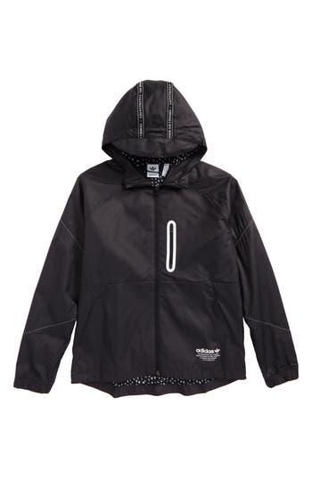 Boy's Adidas Junior Nmd Hooded Windbreaker