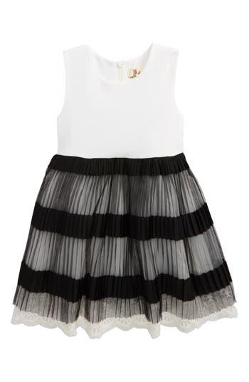 Girl's Doe A Dear Accordion Pleated Dress