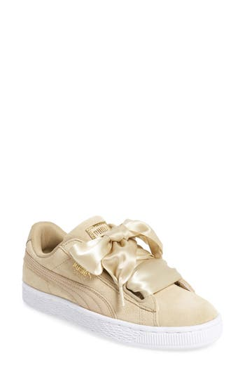 Women's Puma Basket Heart Sneaker