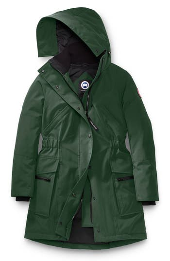 Women's Canada Goose Kinley Insulated Parka, Size X-Small (0) - Green