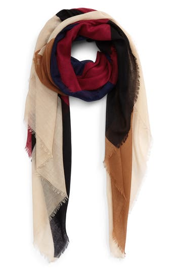 Women's Bp. Geo Block Oblong Scarf