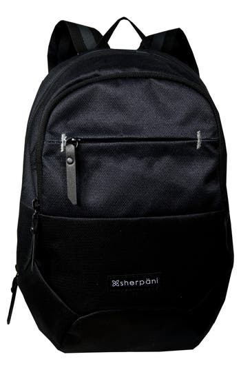 Sherpani Mini Dash Rfid Pocket Backpack - Black