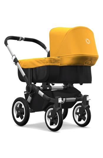 Infant Bugaboo Side Luggage Basket Cover For Donkey2 Stroller, Size One Size - Yellow