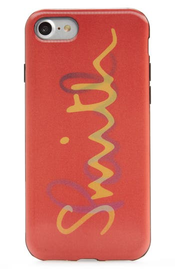 Paul Smith Iphone 7 Case - Red