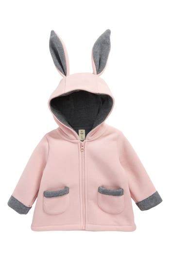 Infant Girl's Tucker + Tate Bunny Fleece Jacket