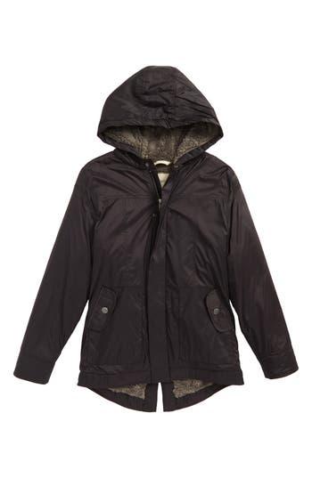 Boy's Tucker + Tate Water Resistant Nylon Hooded Jacket