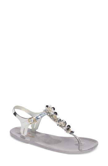 Kate Spade New York Farrah Thong Sandal, Grey