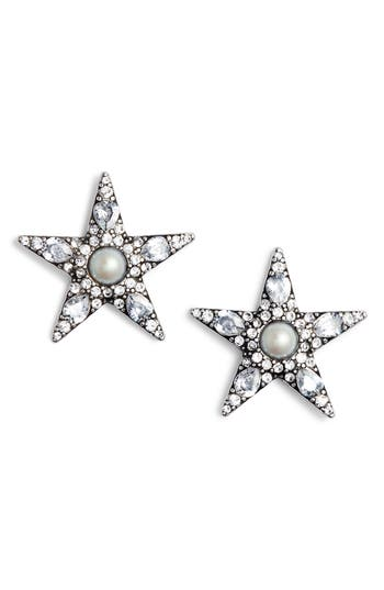 1930s Jewelry Styles and Trends Womens Kate Spade New York Seeing Stars Statement Stud Earrings $34.80 AT vintagedancer.com