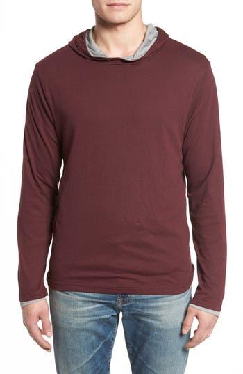 Men's Tailor Vintage Reversible Hooded Jersey T-Shirt
