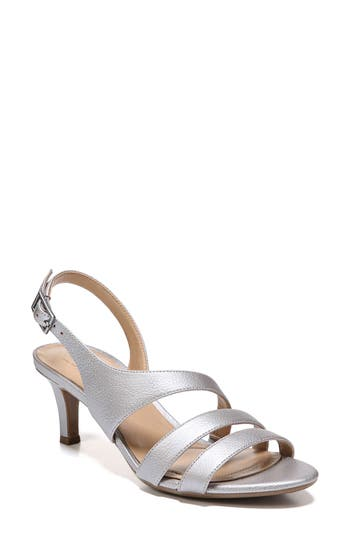 Women's Naturalizer 'Tami' Sandal, Size 6.5 M - Metallic
