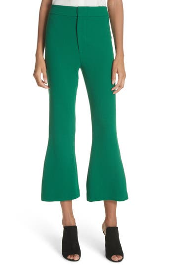 Smythe Crop Flare Pants