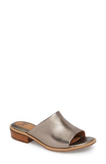 Sofft Nola Slide Sandal, Metallic