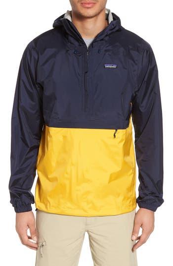 Patagonia Torrentshell Packable Regular Fit Rain Jacket, Blue