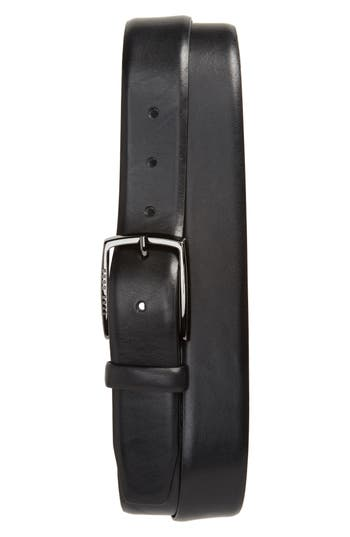 Boss Celie Leather Belt, Black