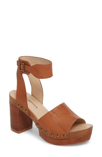 60s Shoes, Boots | 70s Shoes, Platforms, Boots Womens Kelsi Dagger Brooklyn Farris Platform Sandal Size 11 M - Brown $159.95 AT vintagedancer.com