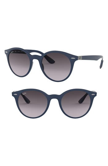 Ray-Ban Phantos 50Mm Sunglasses - Matte Blue
