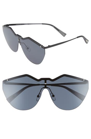 Le Specs 140Mm Shield Sunglasses - Black