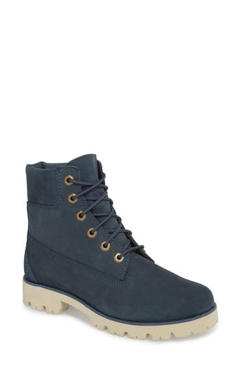 Timberland 6-Inch Heritage Lite Water-Resistant Boot, Blue