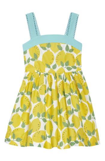 Kids 1950s Clothing & Costumes: Girls, Boys, Toddlers Girls Mini Boden Fifties Summer Dress $31.20 AT vintagedancer.com