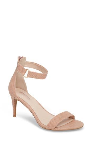 Women's Topshop Ringed Sandal, Size 5.5US / 36EU M - Beige