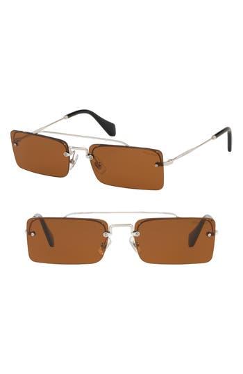 Miu Miu Socit 5m Square Sunglasses -