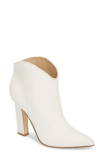 Marc Fisher Ltd Miggi Bootie, White
