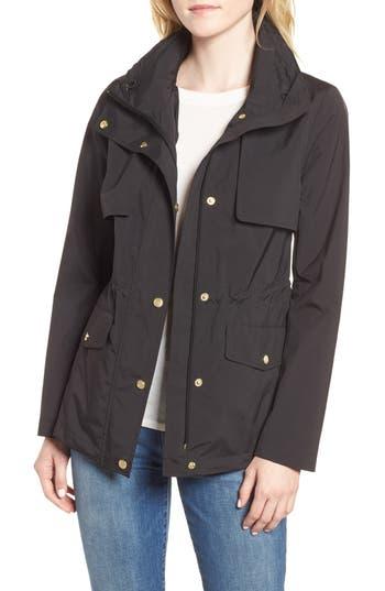 Cole Haan Signature Gunflap Packable Rain Jacket