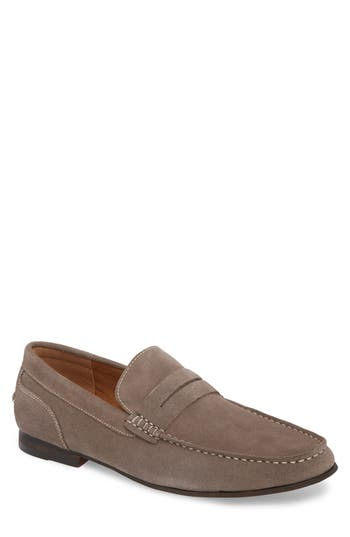 Reaction Kenneth Cole Crespo Penny Loafer, Grey