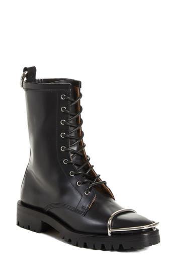 Alexander Wang Kennah Combat Boot, Black