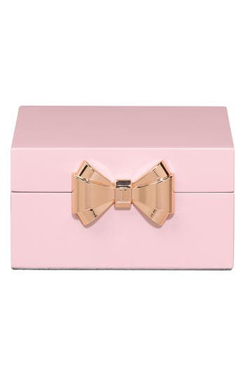 Ted Baker London Square Jewelry Box - Pink