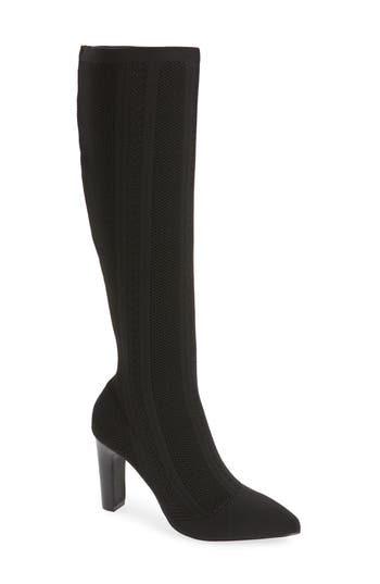 Charles By Charles David Davis Knit Boot, Black