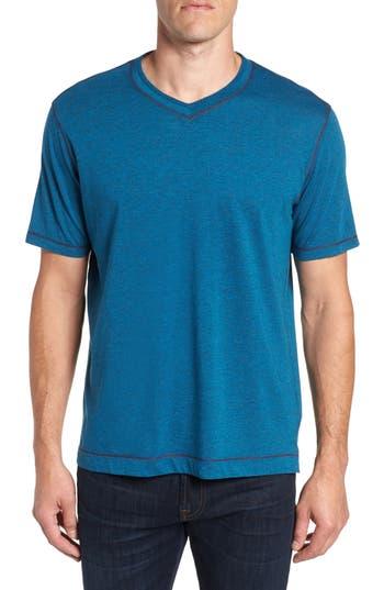 Robert Graham Traveler V-Neck T-Shirt, Blue