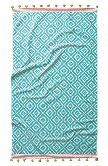 John Robshaw 'Alabat' Beach Towel, Size One Size - Blue/green