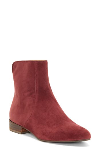 Lucky Brand Glanshi Bootie- Red