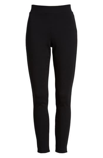 Wolford Grace Laced Detail Leggings, Black