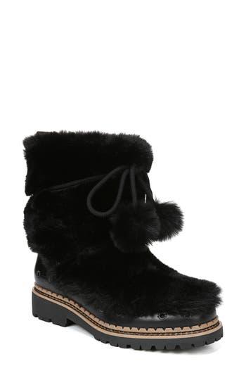 Sam Edelman Blanche Faux Fur Boot, Black