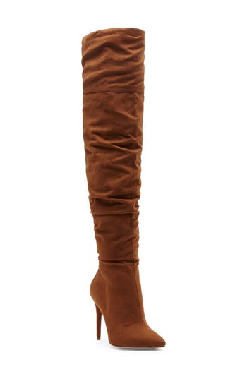 Jessica Simpson Luxella Over The Knee Boot, Brown