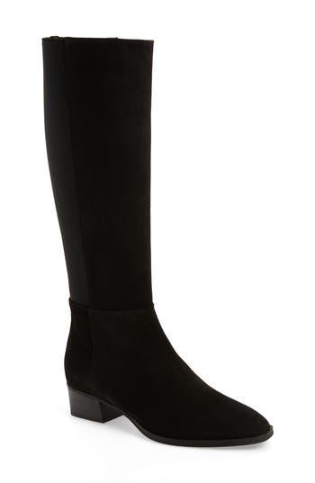 Aquatalia Finola Weatherproof Stretch Back Boot, Black